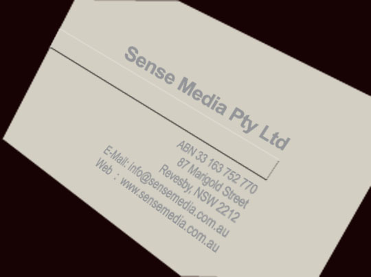 Business card sense media braille technical press letterpress on the business card is becoming a popular trend in design business card business card embossed always feels refined reheart Gallery